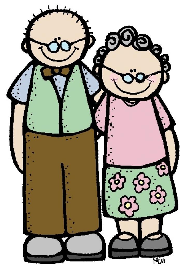741x1024 Illustration Grandparents Clipart, Explore Pictures