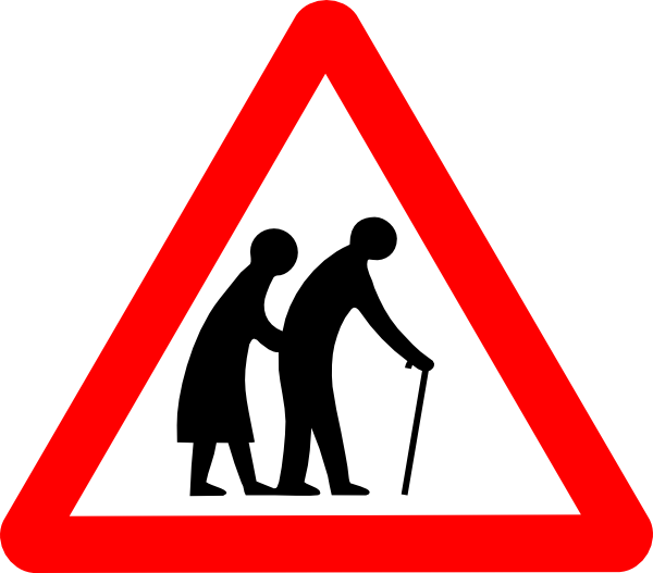 600x527 Old People Clip Art