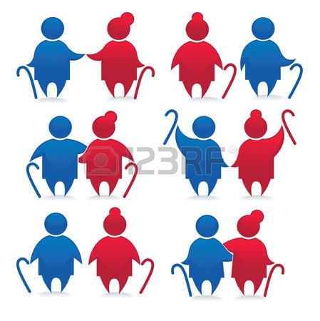 449x450 Old Sitting Person Royalty Free Cliparts, Vectors, And Stock