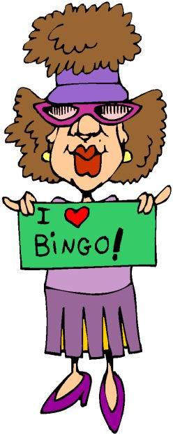 248x620 Play Bingo Old People Clip Art Cliparts