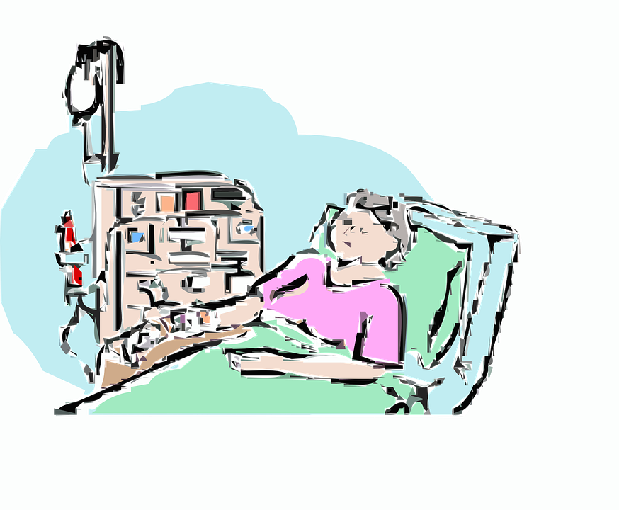 874x720 Sick Clipart Old Person