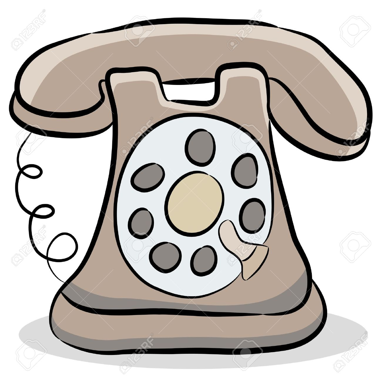 1300x1300 Phone Clipart Old Time
