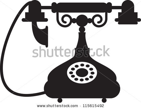 450x348 Phone Clipart Vintage Telephone