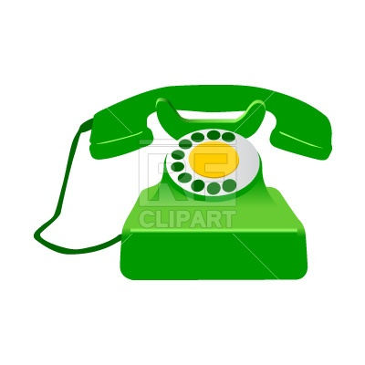400x400 Retro Telephone Royalty Free Vector Clip Art Image