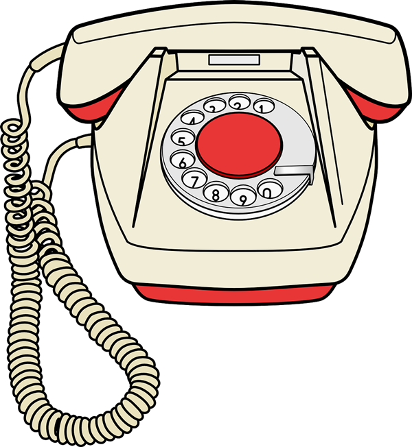 600x652 Telephone Free To Use Clip Art 2