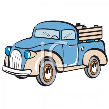 350x350 Clip Art Cartoon Farm Truck Clipart