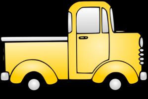 299x201 Old Truck Clip Art