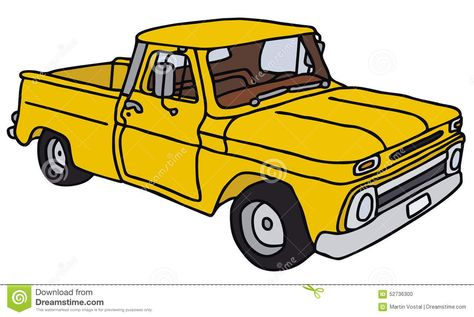 474x317 Old Truck Abstract Clipart