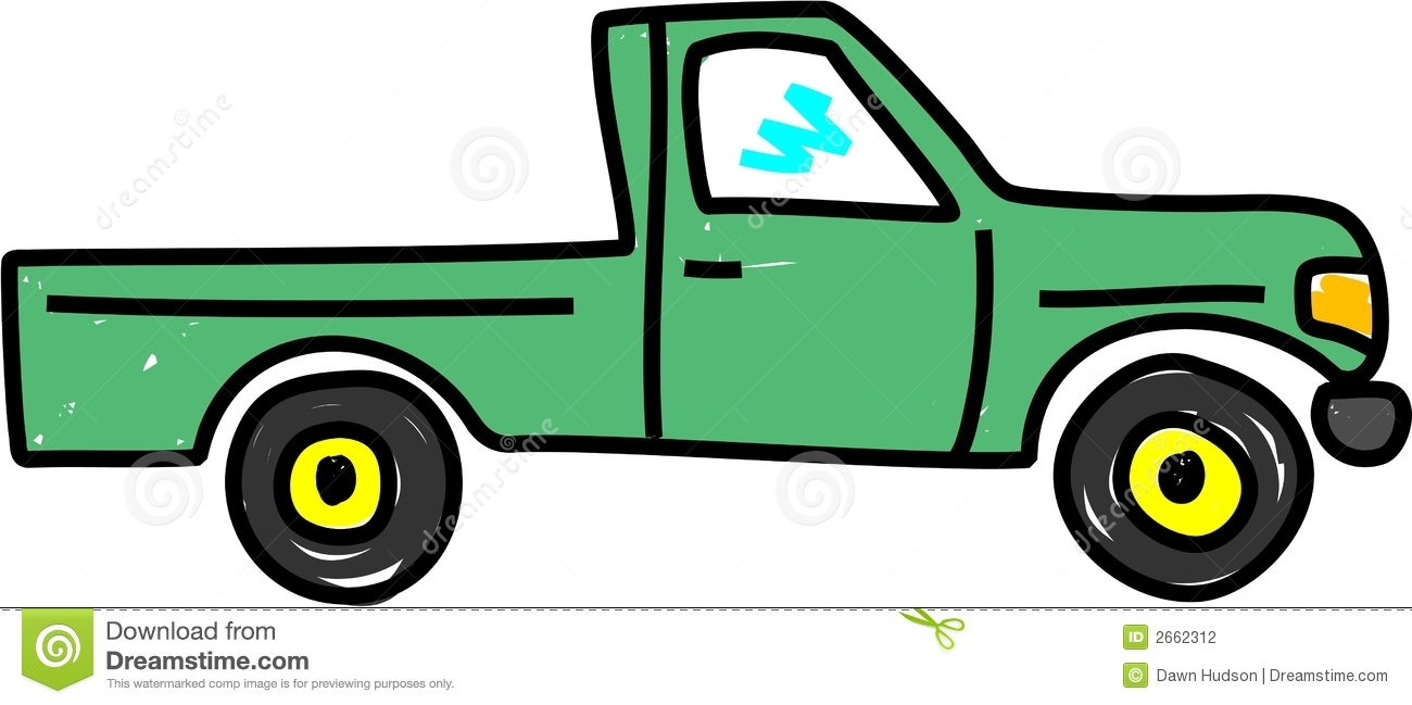 1300x649 Pick Up Truck Clipart