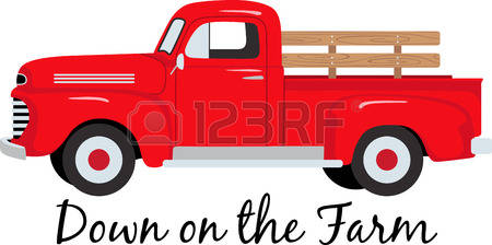 450x224 Truck Clipart Old Fashioned
