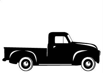335x238 Vintage Pickup Truck Fall Boys Svg Cut File By Tlpmonoandmore
