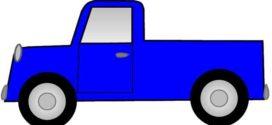 272x125 Old Truck Clip Art