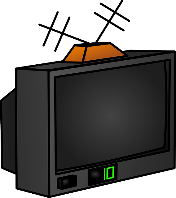 568x640 Free Old Style Television Clip Art