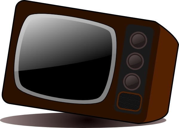 600x429 Old Television Clip Art Free Vector In Open Office Drawing Svg