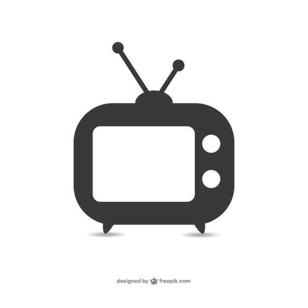 626x626 Old Television Set Icon Vector Free Download