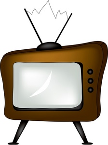 224x300 Television Clipart Image