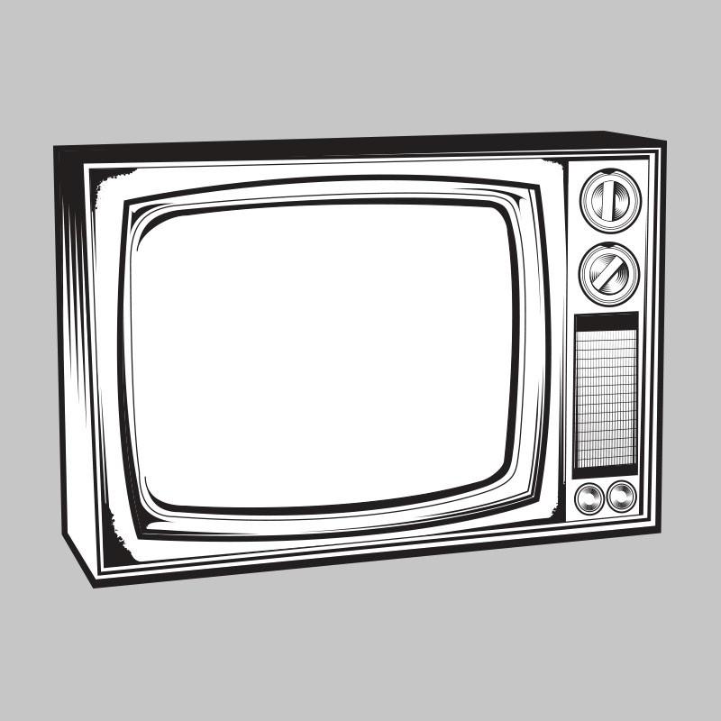 800x800 Television Vintage Tv Clipart Clipartfest