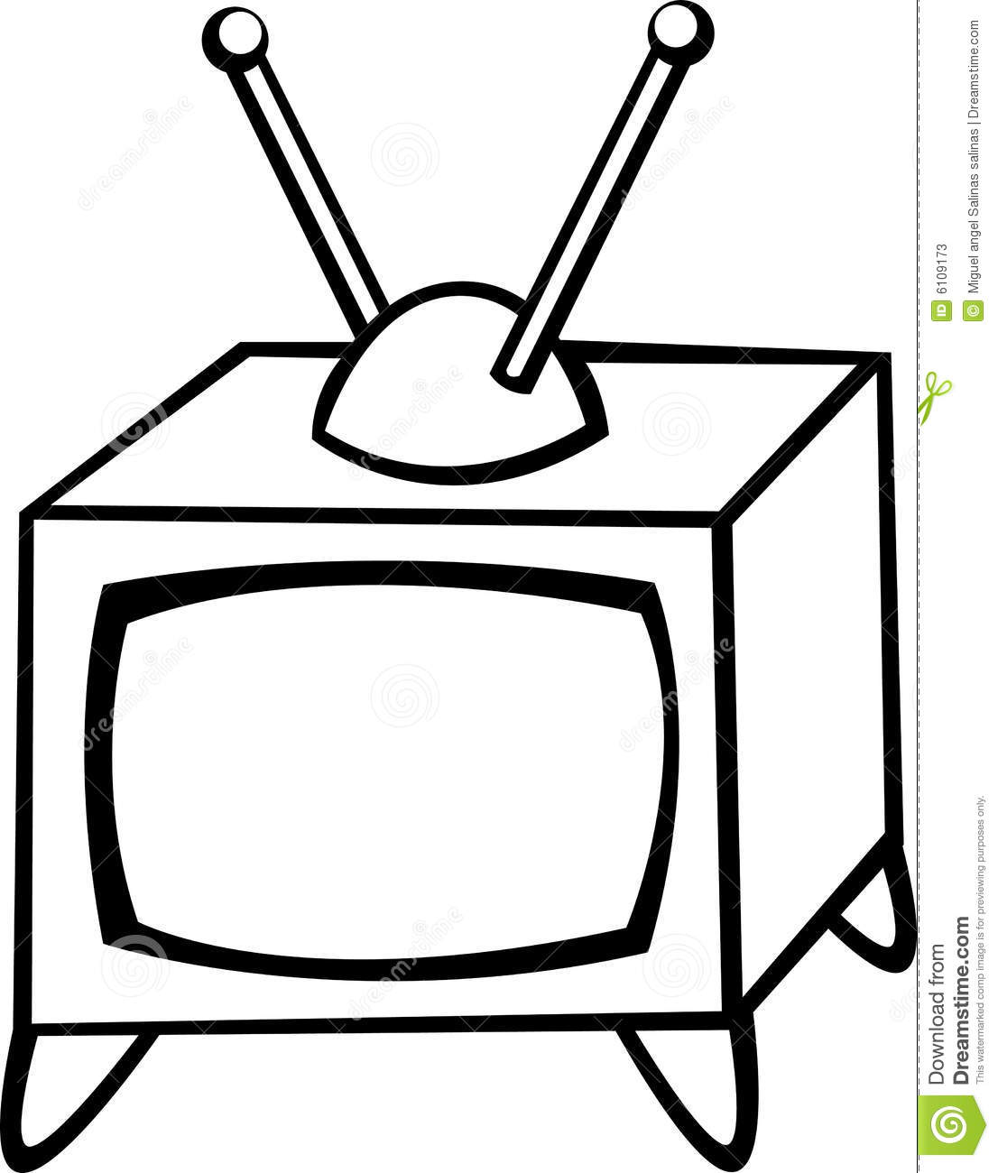 1106x1300 Tv Clipart Antique