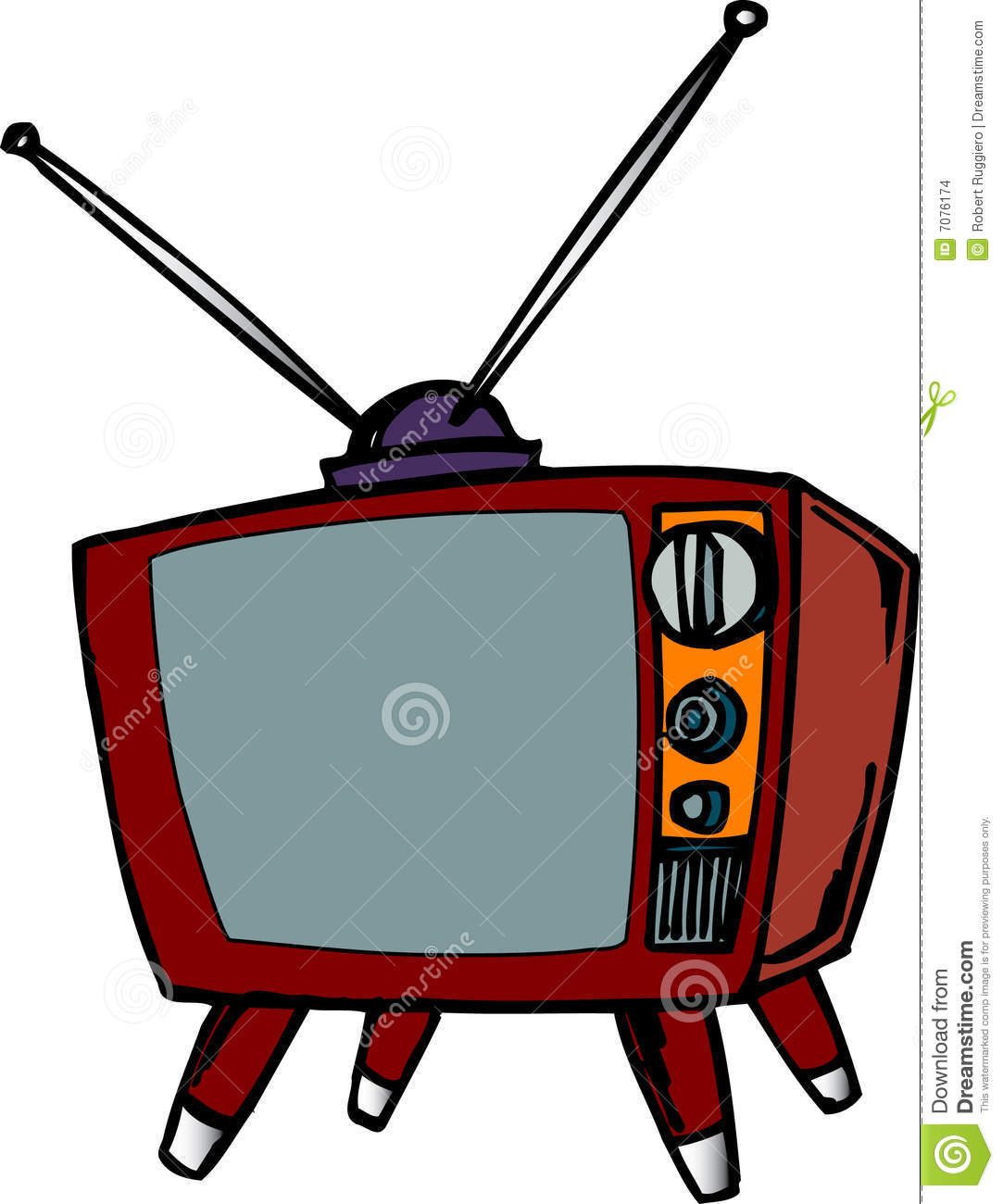 1083x1300 Tv Clipart Rabbit Ear