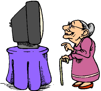 411x373 Watching Tv Tv Television Clip Art