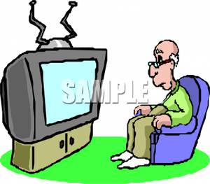 300x263 Woman Watching Tv Clipart Clipart Panda