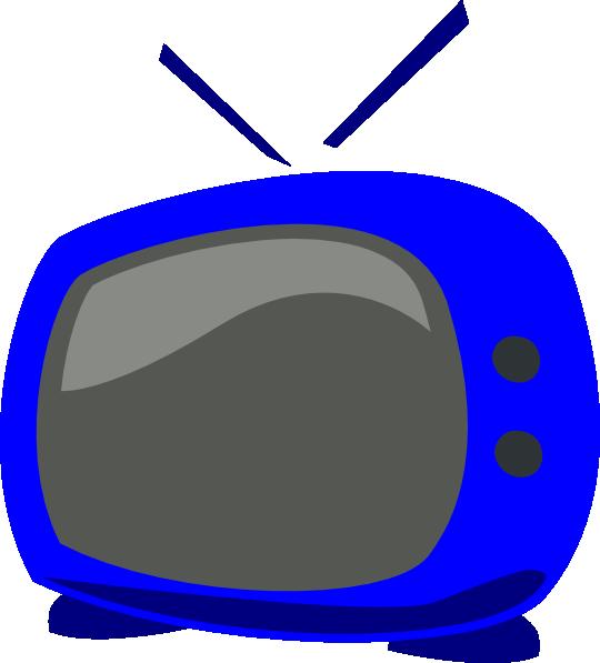 540x597 Blue Tv Clip Art