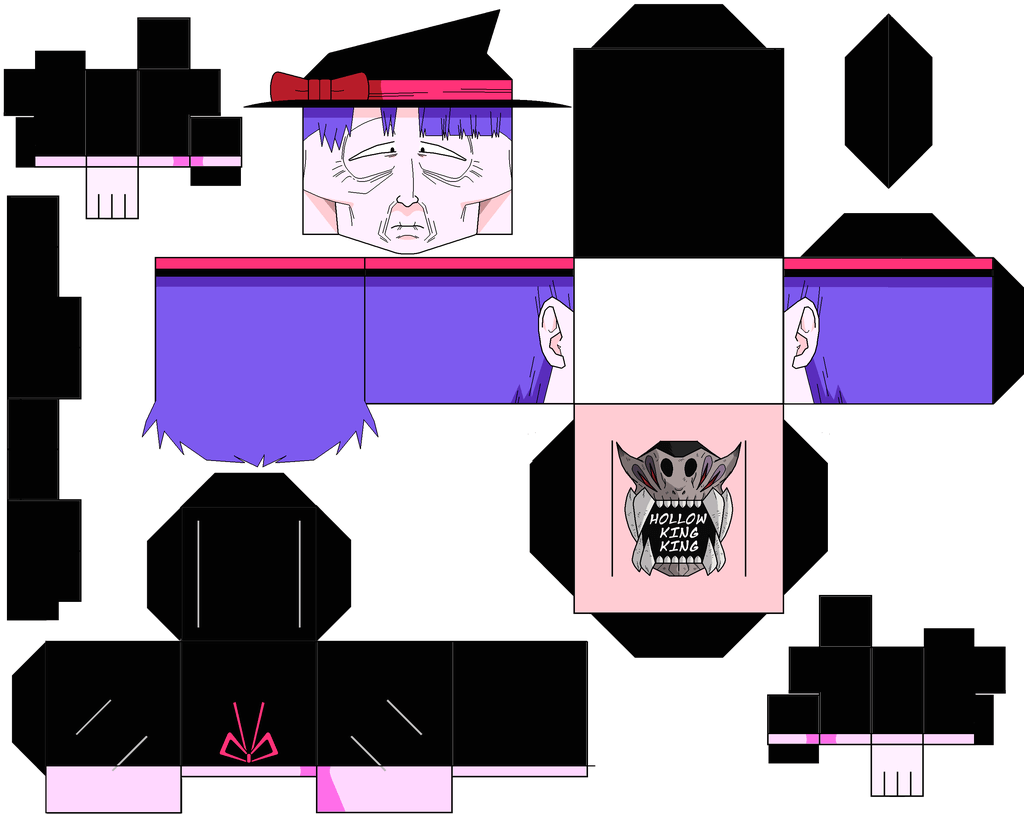 1024x815 Old Witch Paper Toy Free Printable Papercraft Templates