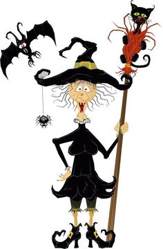 236x360 Witchcraft Clipart Old Witch
