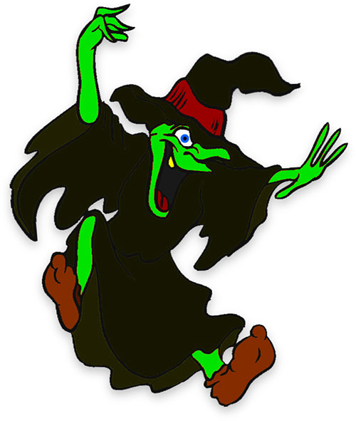 500x591 Animated Witch