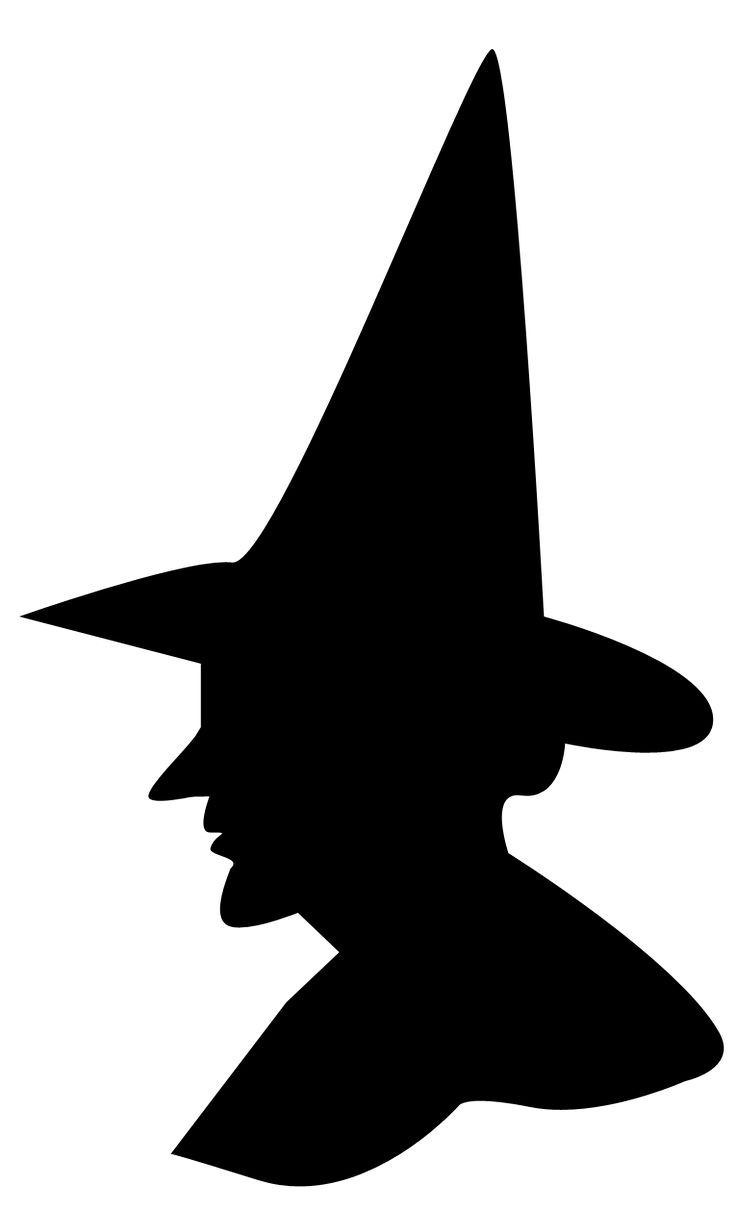736x1210 Best Witch Silhouette Ideas Halloween Window