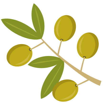 432x432 Olive Branch Svg Cutting File Olive Wreath Svg Cut File