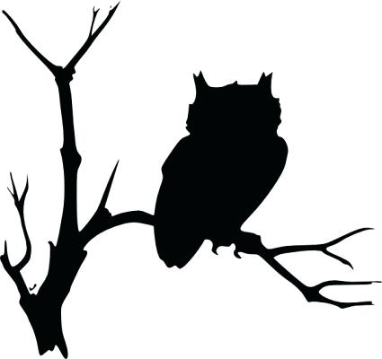 425x400 Branch Clipart Owl On Tree Branch Clip Art Vector Clip Art Free