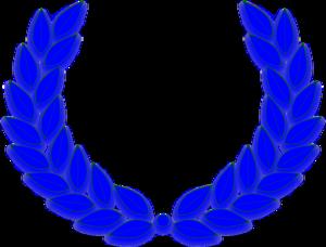 300x228 Olympic Blue Wreath Clip Art