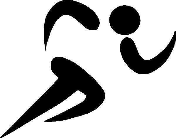 600x470 Olympic Sports Athletics Pictogram Clip Art