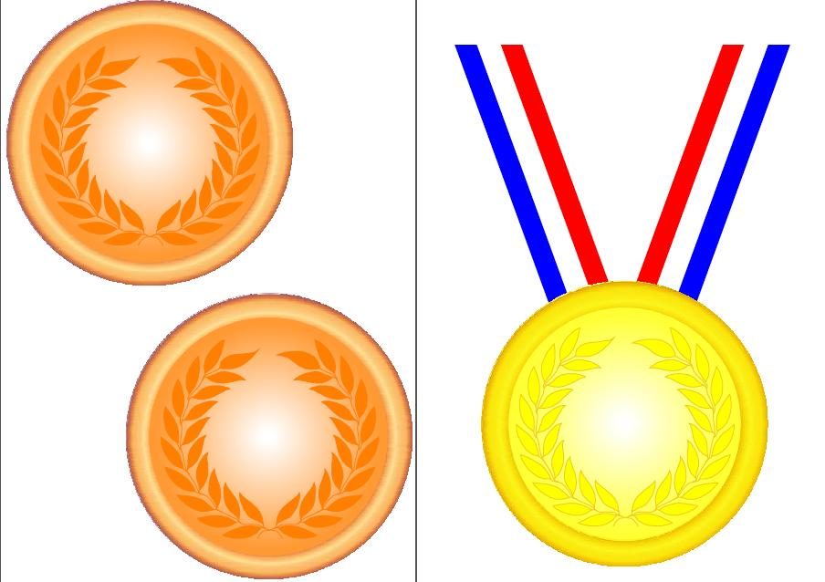 904x638 Olympic Trophy Clipart
