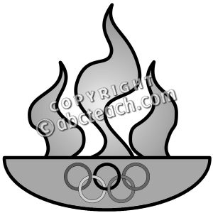 300x300 Flame Clipart Olympic Flame