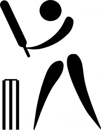 331x425 Olympic Sports Cricket Pictogram Clip Art Download