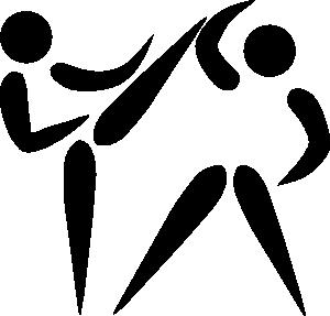 300x287 Olympic Sports Taekwondo Pictogram Clip Art