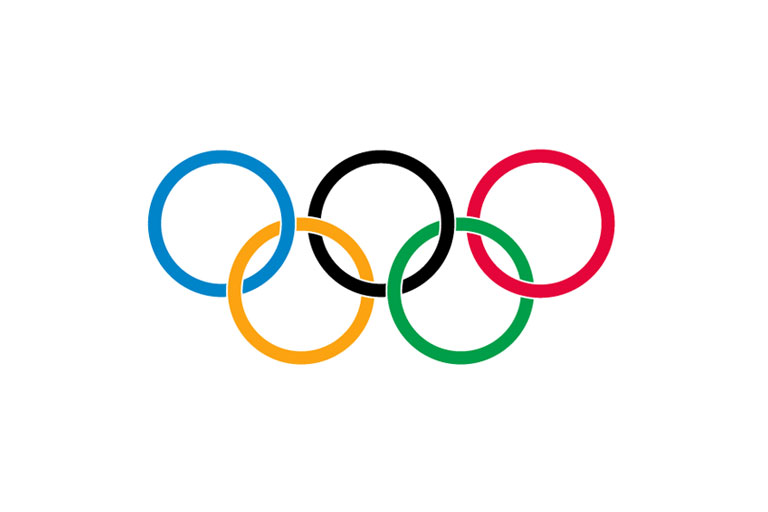 768x512 Free Olympic Flag Clipart