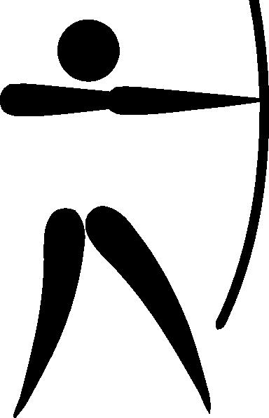 384x597 Olympic Archery Logo Clip Art