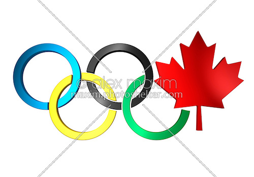 500x350 Canada Clipart Olympic