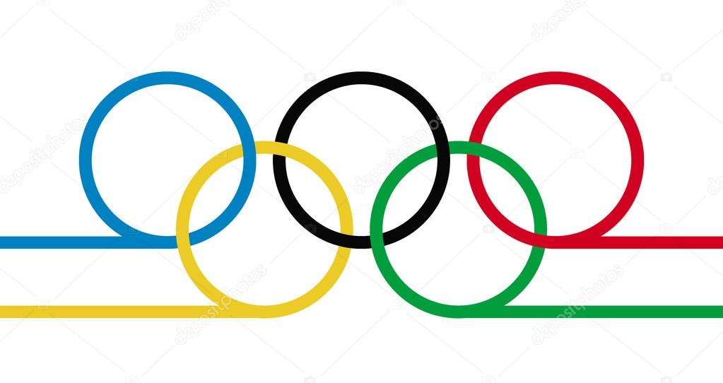 1023x542 Olympic Rings Symbol Stock Vectors, Royalty Free Olympic Rings