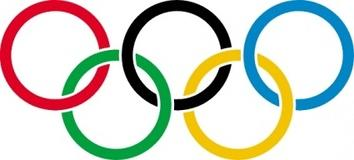 354x160 Torch Clipart Olympic Rings