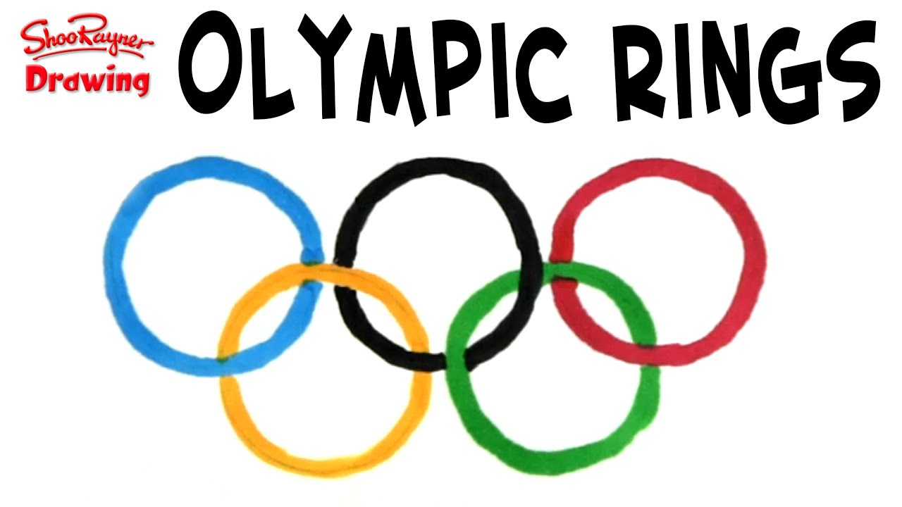 1280x720 Draw The Olympic Rings
