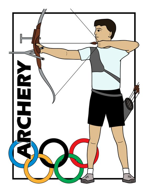 564x730 Clip Art Summer Olympics Event Illustrations Swimming Bampw