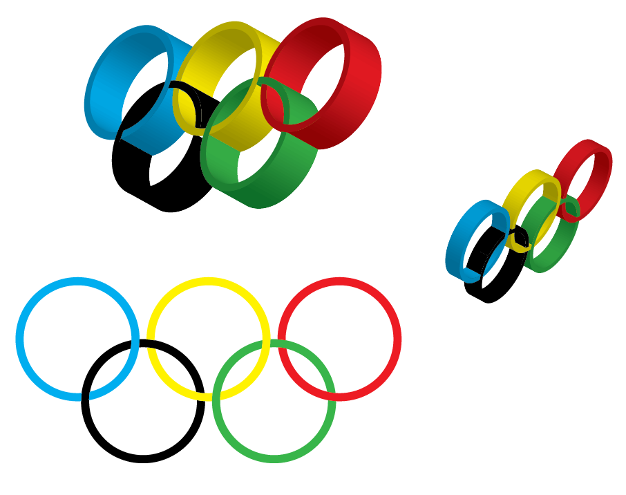 906x716 Olympic Rings Clipart