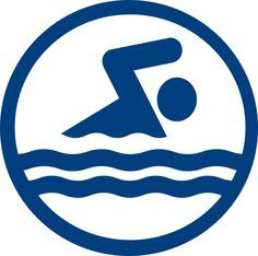 236x234 Olympic Sports Swimming Pictogram clip art