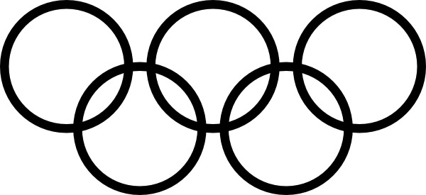 600x275 Olympic Rings Logo Free Vector Download (68,385 Free Vector)