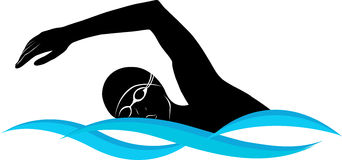 342x160 swimming clipart