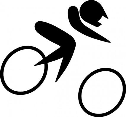 425x395 Olympic Sports Cycling Bmx Pictogram Clip Art Vector Clip Art Free